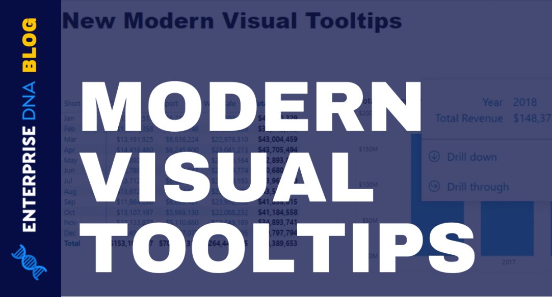 Tooltips In Power BI | New Modern Visual Tooltips Review