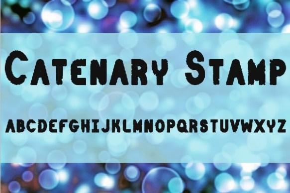 Catenary Stamp