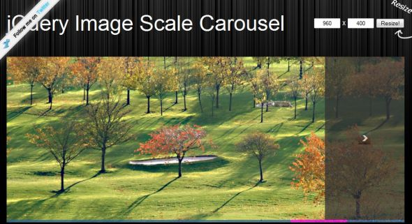 jQuery Image Scale Carousel