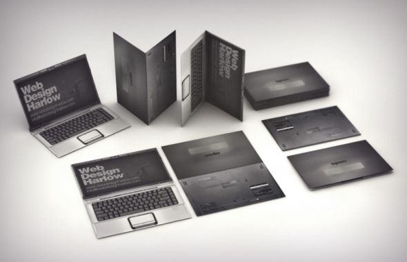 Web Design Harlow Business card