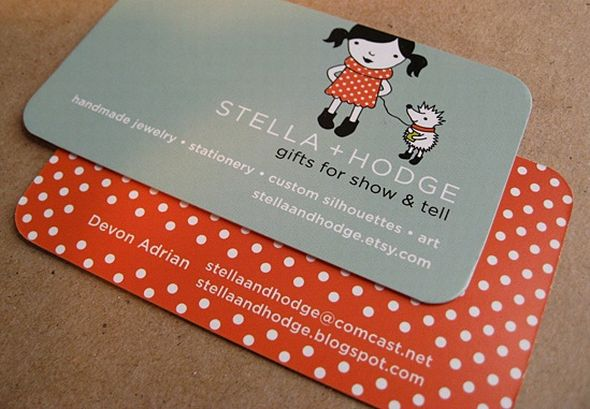 Stella + Hodge's Business Card