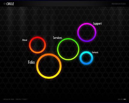 Colored Circles Theme