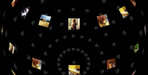 3D Spherical Gallery