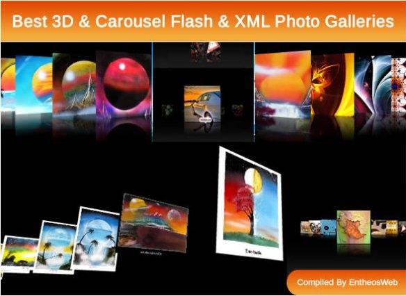 Best 3D & Carousel Flash & XML Photo Galleries