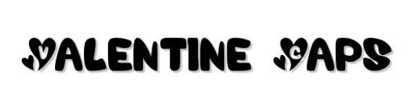 Valentine Caps font