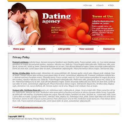 Dating & Couples Website