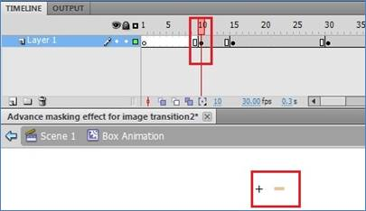 Advance Masking Effect for Image Transition!