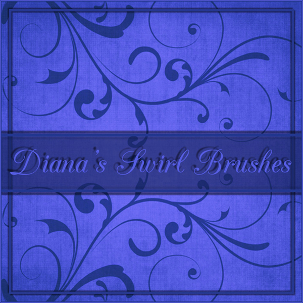 Swirl Brushes by Diana