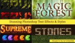Stunning Photoshop Text Effects & Styles