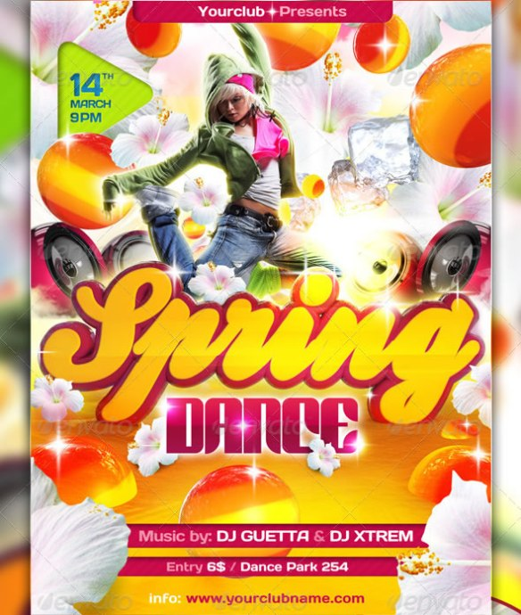 Spring Dance Special Flyer