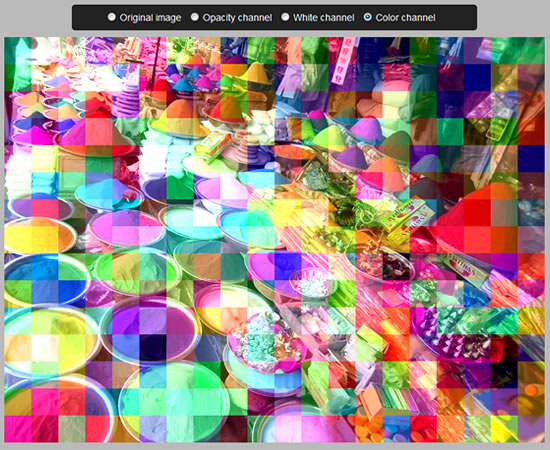 HTML5 canvas pixelate effect