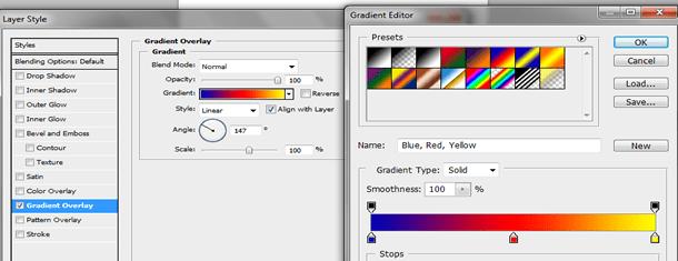 Typographic portrait in Photoshop