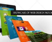 Showcase of Web Design Mock-Ups