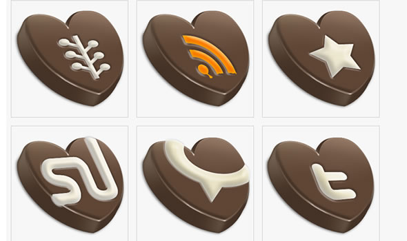 Choco Sosial icons