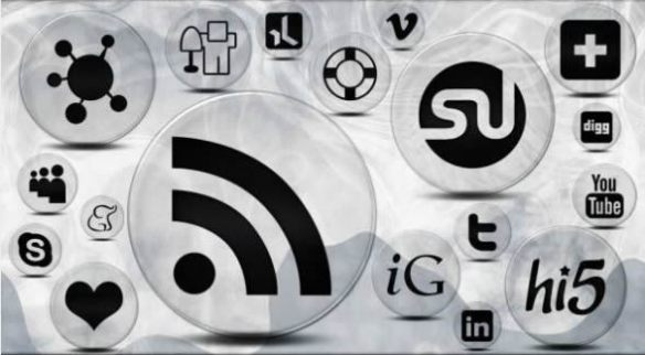 154 Crystal Clear Bubble Social Media Icons