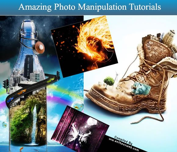 Amazing Photo Manipulation Tutorials