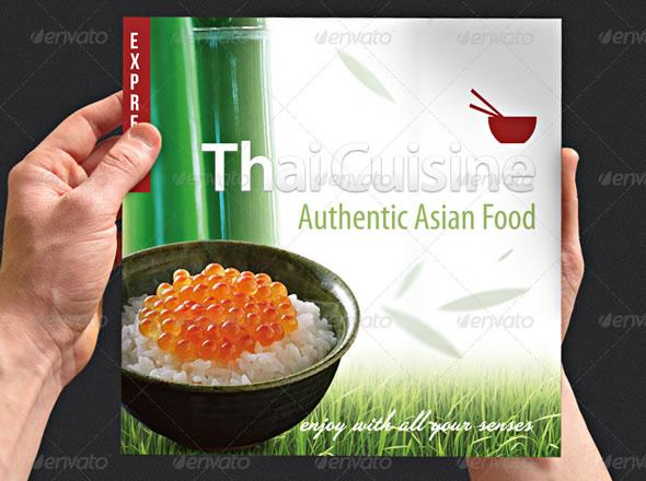 Thai Cuisine Menu Card | Delivery & Restaurant