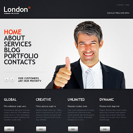 London Business WordPress Theme