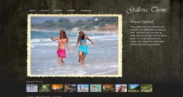 PhotoBlog: Galleria ? WordPress Photo Gallery Theme