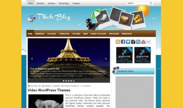 WP-photo blog
