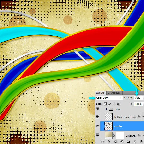 Create an Abstract Background in Photoshop