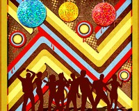 Learn How to Create Retro Disco Background in Photoshop