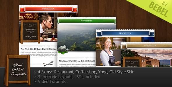 Stella - Newsletter for Restaurants, Cafes, Yoga