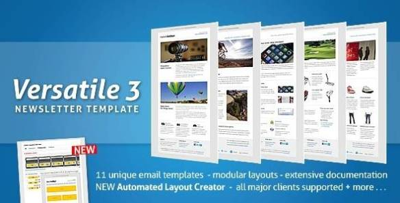 Versatile Newsletter 3 - automated layout creator