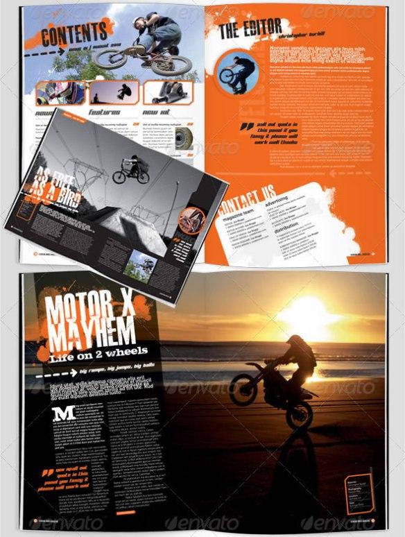 eXtreme Magazine Template
