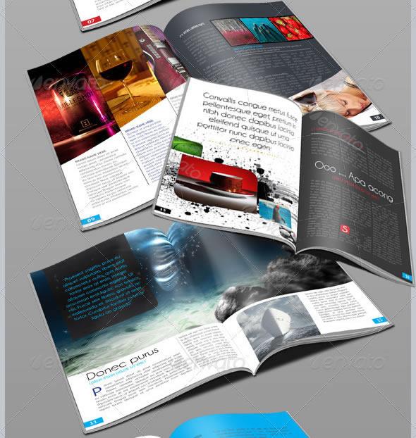 Elegant Clean Magazine Template