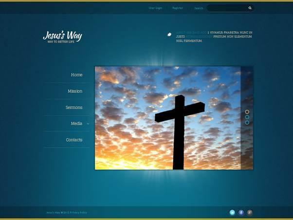 Jesus Way Joomla Template