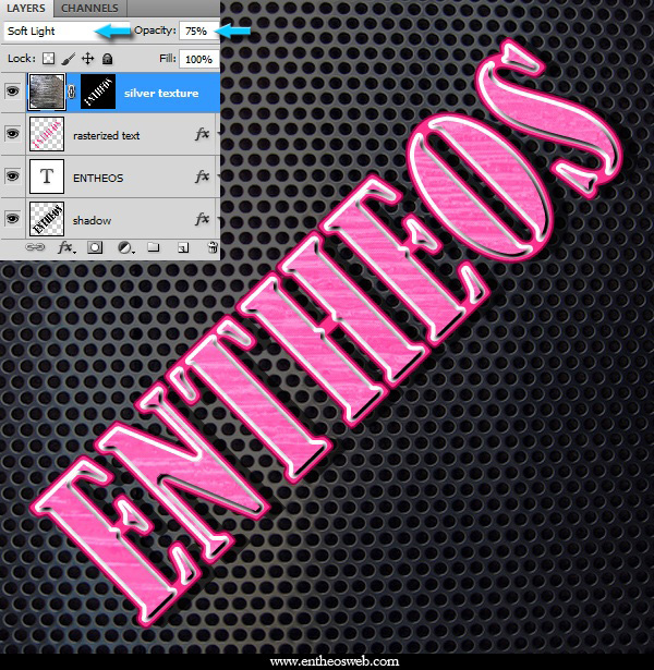 Create a Cool Metallic Text Effect in Photoshop