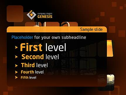 Genesis Business PowerPoint Template