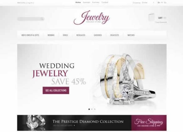 Jewelry Collections PrestaShop Theme