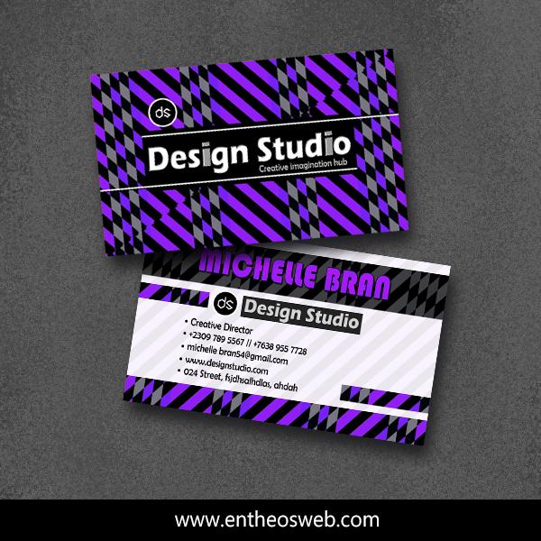 Print Ready Business Card