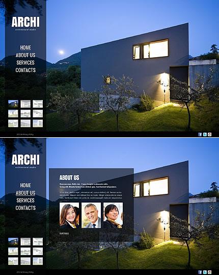 Archi Architecture Website Template