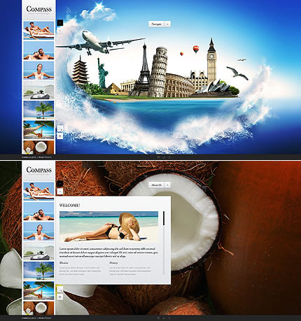 Compass Travel Website