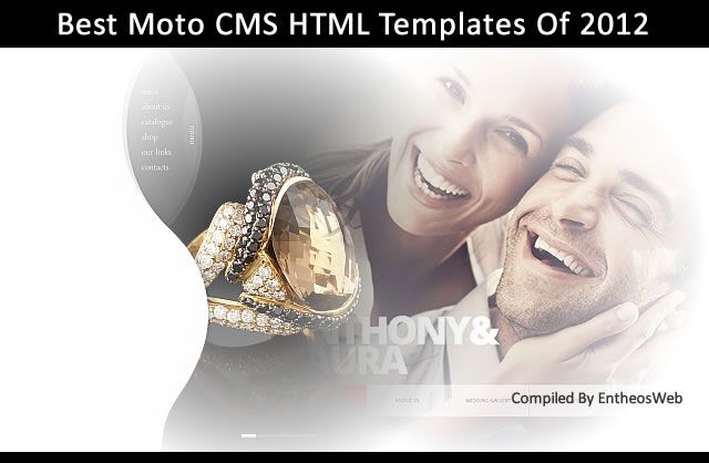 Best 2012 Moto CMS HTML5 Templates