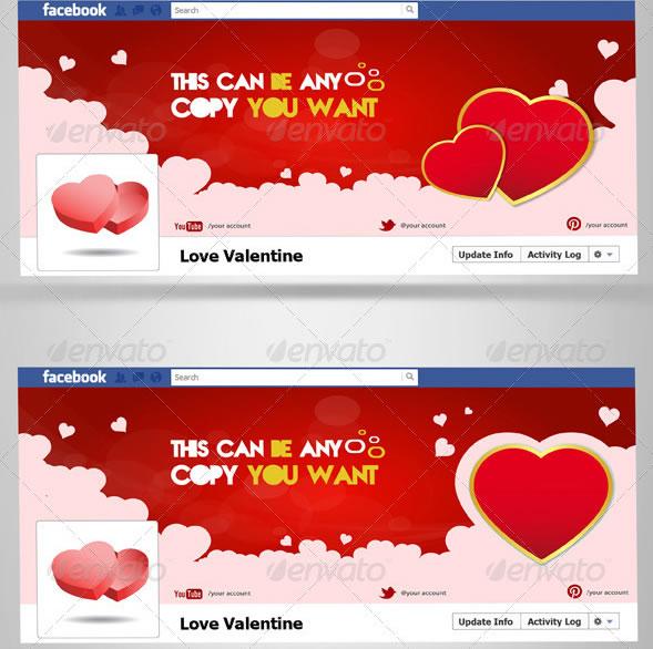 love valentine FB Timeline