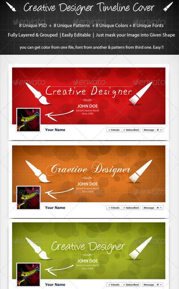 Creative Designer Timeline Cover