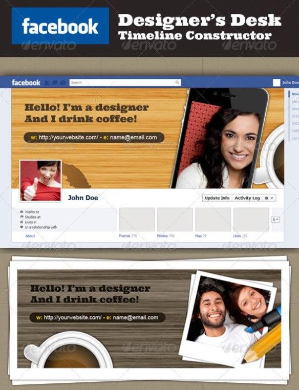 Facebook Designer's Desk Timeline Constructor