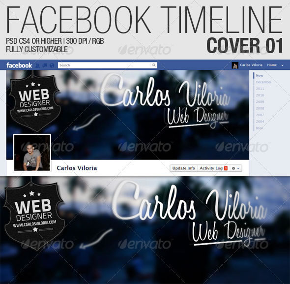 Facebook Timeline Cover 01