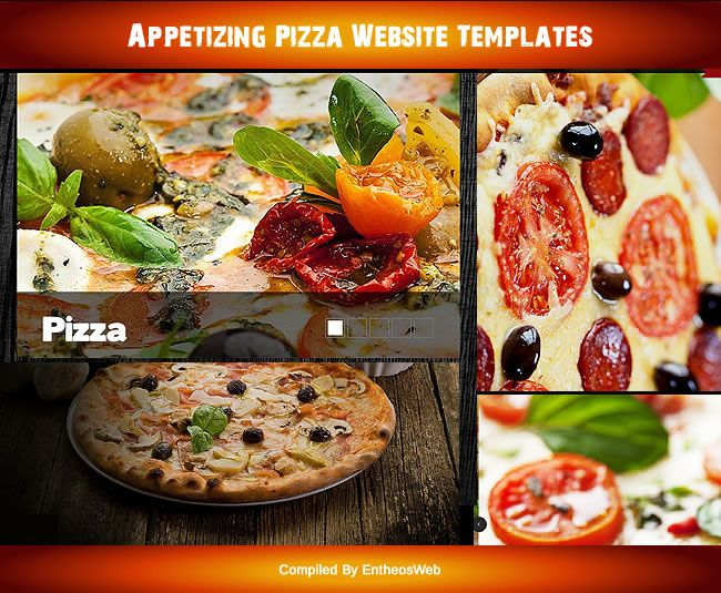 Appetizing Pizza Website Templates