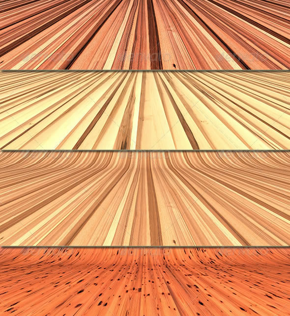 3D Wooden Backgrounds