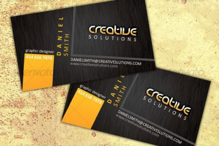 Creative Business Card Design Ideas   Entheos Modern business card template      Creative Designer Business Card
