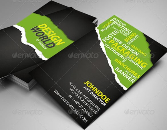 Design World Business Card