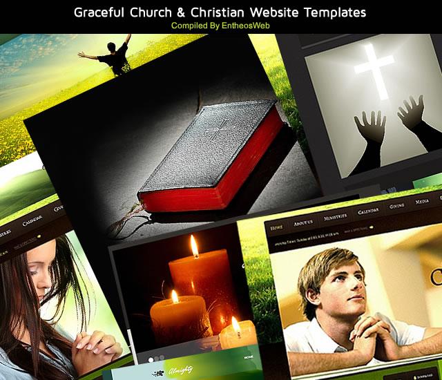 Graceful Church & Christian Website Templates