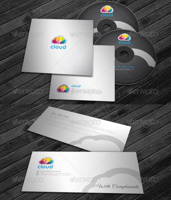 Corporate Identity Package - Cloud