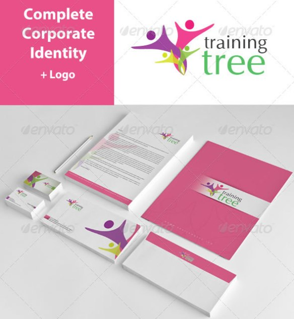 Tree Training Corporate Identity Package