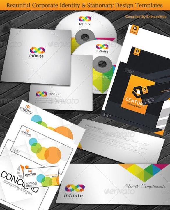 Beautiful Corporate Identity & Stationary Design Templates